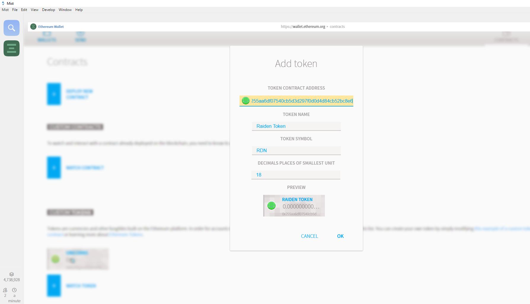 Advanced Ethereum Wallet Usage | andersguide